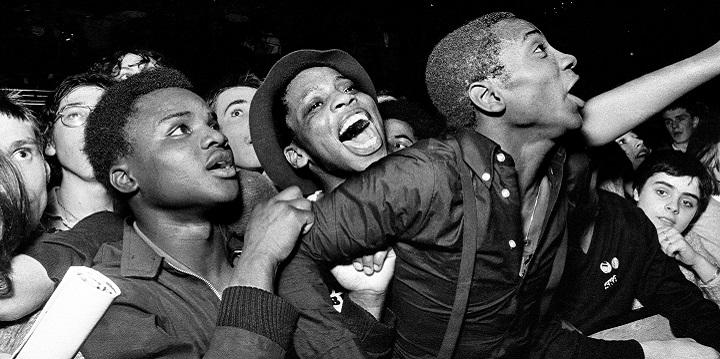 online exhibition - Syd Shelton: Rock Against Racism