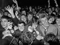 Clash fans, Southall Kids are Innocent Gigs, The Rainbow, London 1979.