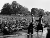 Elvis Costello, RAR Carnival 2, Brockwell Park, September 1978.
