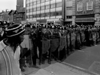 Lewisham: The first time riot shields were used in mainland Britain 13 August 1977.