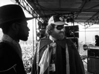 Mykaell Riley, Steel Pulse and RAR founder, Red Saunders, RAR/ANL Carnival 1, Victoria Park, 1978.
