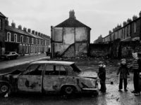 The Lower Falls, West Belfast, 1979.