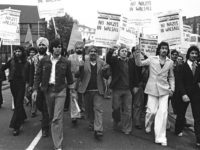 Anti National Front demonstration, Walsall 1977.